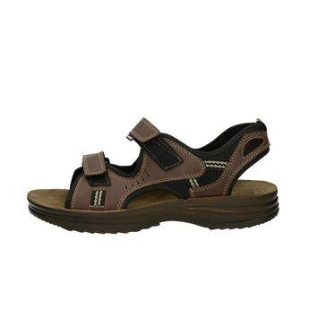 Inblu pánske kožené sandále - hnedé
