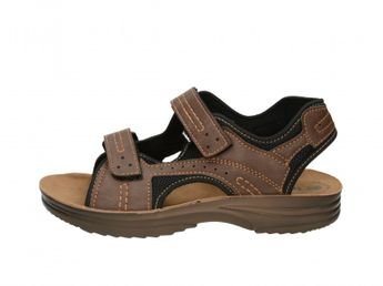 Inblu pánske tmavohnedé sandále