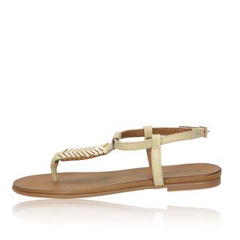 Inuovo dámske luxusné sandále - béžové