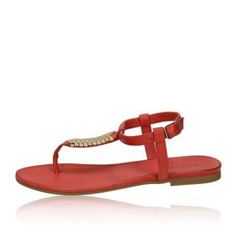 Inuovo dámske štýlové sandále - červené