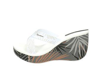 Ipanema dámske plážovky - biele