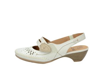 Jana dámske sandále - biele