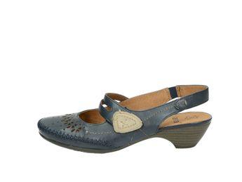 Jana dámske sandále - modré