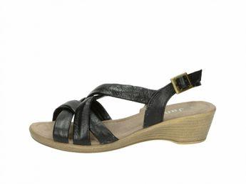 Jana dámske sandále - čierne