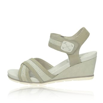 Jana dámske sandále - šedé