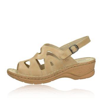 Josef Seibel dámske sandále - béžové