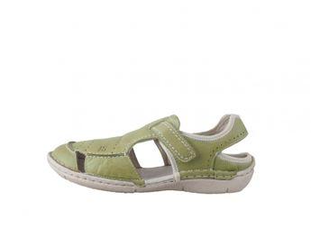 Josef Seibel dámske zelené sandále