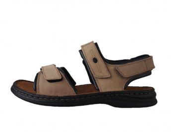 Josef Seibel pánske béžové kožené sandále