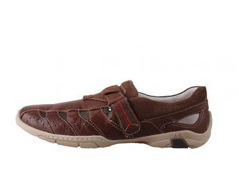 Josef Seibel pánske hnedé športové sandále