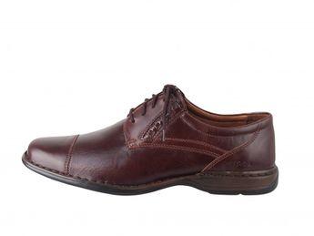 Josef Seibel pánske spoločenské topánky - hnedé