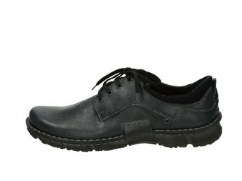 Josef Seibel pánske spoločenske topánky - čierne