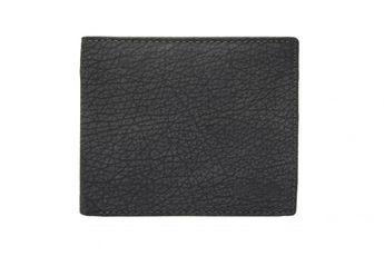 Lagen pánska čierna kožená peňaženka