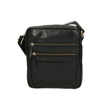 Lagen pánska crossbody taška - čierna
