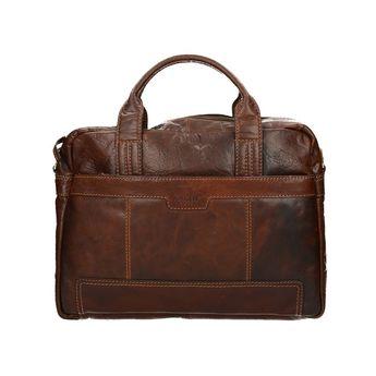 Lagen pánska kožená taška - hnedá
