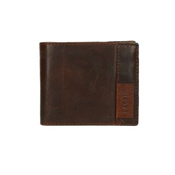 Lagen pánska praktická peňaženka - hnedá