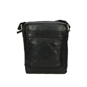 Lagen pánska štýlová taška - čierna