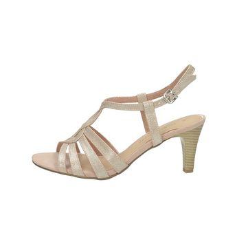 Marco Tozzi dámske elegantné sandále na remienok - ružové