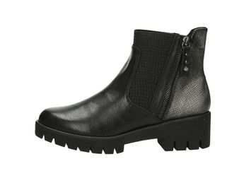 Marco Tozzi dámske pohodlné kotníky - čierne