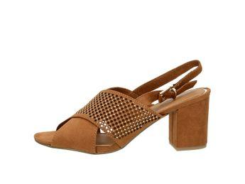 Marco Tozzi dámske sandále - koňakové