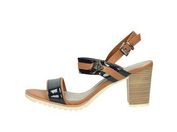 Marco Tozzi dámske sandále - hnedomodré