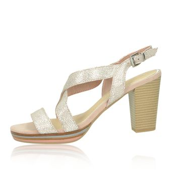 Marco Tozzi dámske sandále - ružové