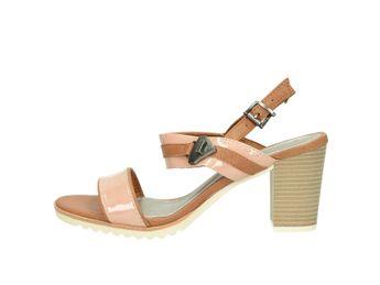 Marco Tozzi dámske sandále - hnedoružové
