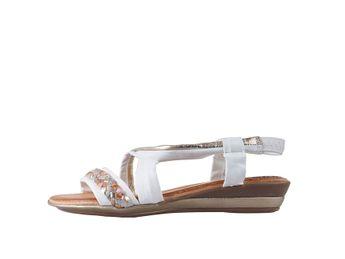 Marila dámske biele sandále