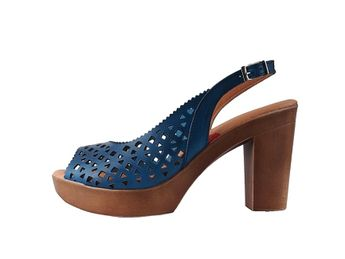 Marila dámske modré sandále