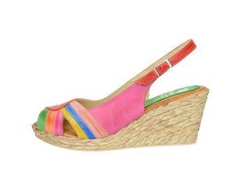 Marila dámske sandále - multicolor