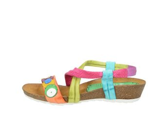Marila dámske štýlové sandále - multicolor