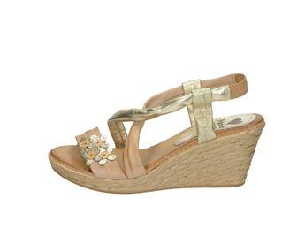Marila dámske sandále - zlatohnedé