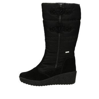 M&G dámske zateplené čižmy - čierne