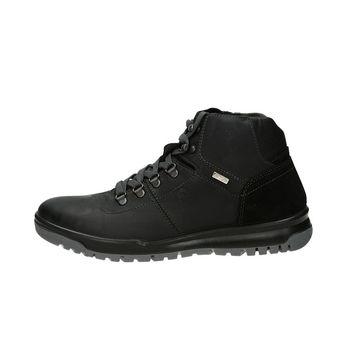 M&G pánska trekingová členková obuv - čierna