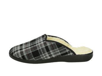 Mjartan pánska zateplená domáca obuv - šedá