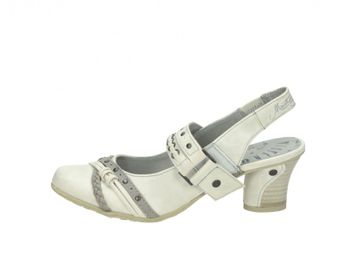 Mustang dámske sandále - biele