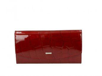 Nicole dámska kožená peňaženka - červená