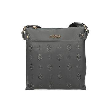 Nóbo dámska crossbody štýlová kabelka - šedá