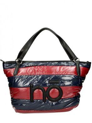 Nóbo dámska kabelka - modročervená