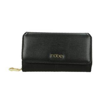 Nóbo dámska praktická peňaženka - čierna