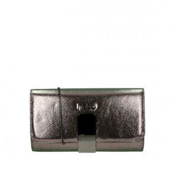 Nobo dámska spoločenská kabelka - bronzová
