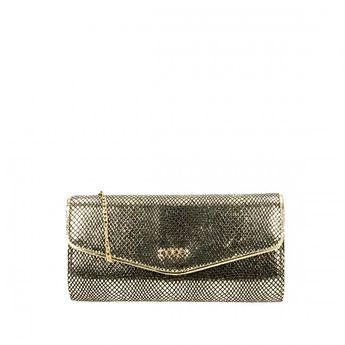 Nobo dámska spoločenská kabelka - zlatá