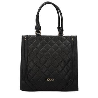 Nóbo dámska štýlová kabelka - čierna