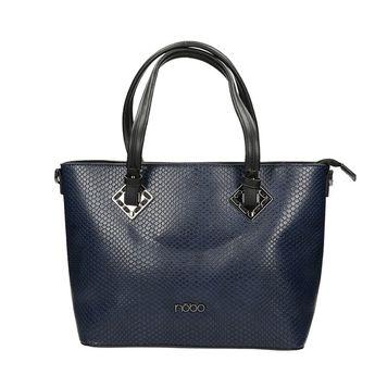 Nóbo dámska vzorovaná kabelka - modrá