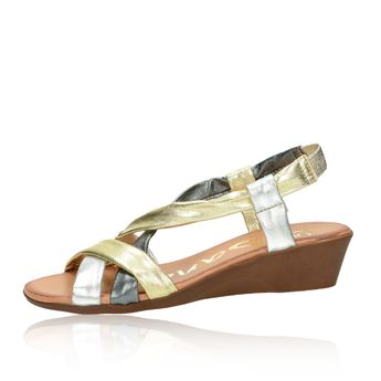 OH! my sandals dámske sandále - zlaté
