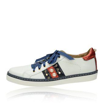 Olivia shoes dámske elegantné tenisky - biele