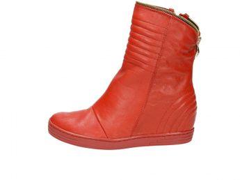 Olivia shoes dámske kotníky - červené