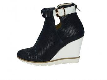 Olivia shoes dámske kotníky - tmavomodré