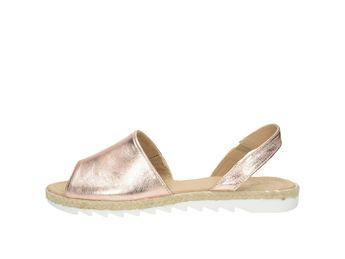 Olivia shoes dámske kožené sandále - rúžové