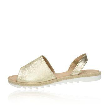 Olivia shoes dámske kožené sandále - zlaté