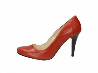 Olivia shoes dámske lodičky - červené